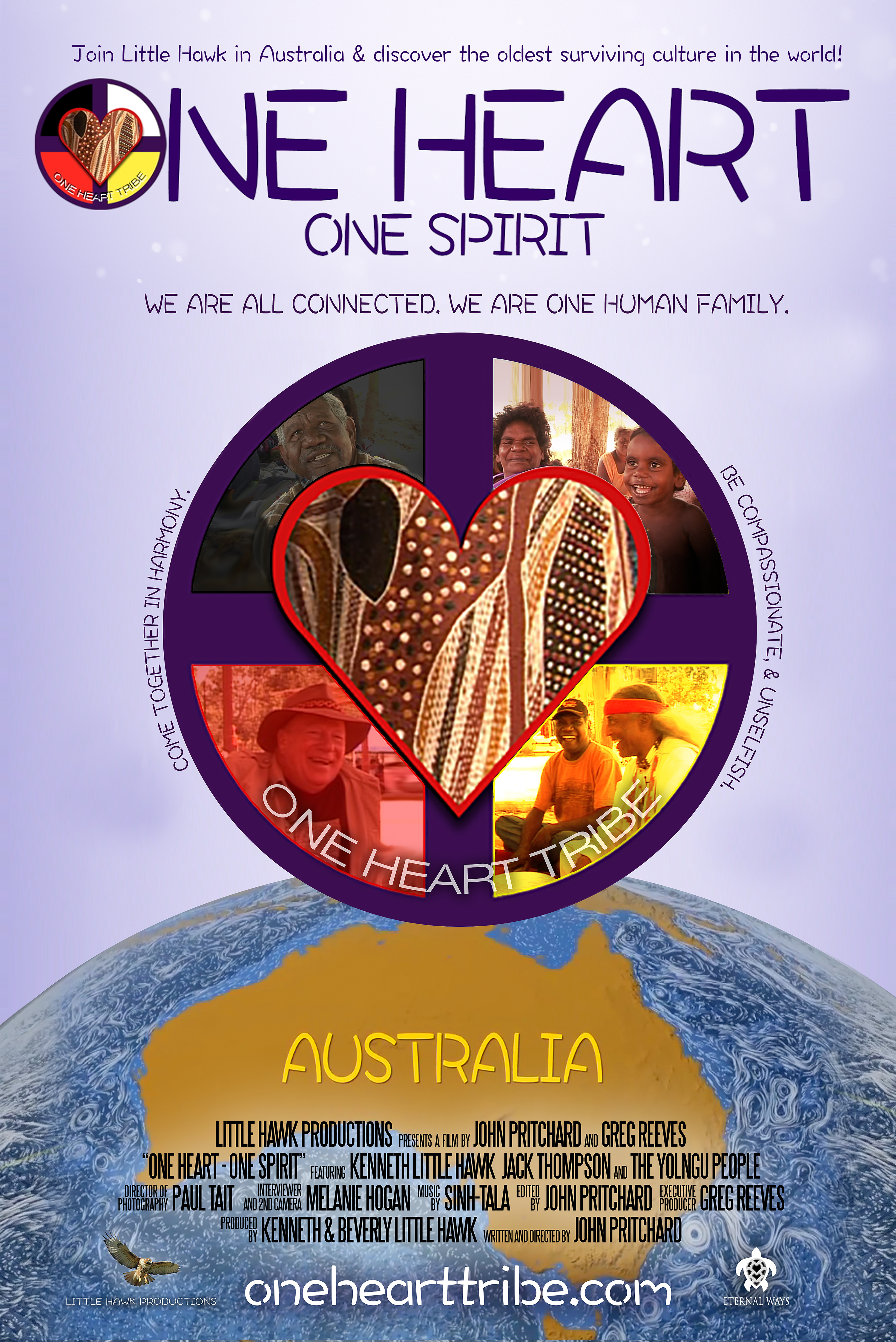 ONE HEART - ONE SPIRIT MOVIE: We Are All Connected  We Are